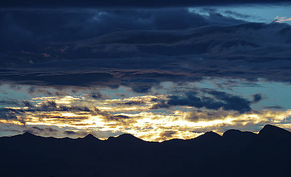 Las  Vegas  Sunset  One by Carl Deaville