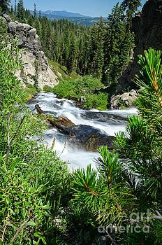 Lassen National Park Waterfall by Rincon Road Photography By Ben Petersen