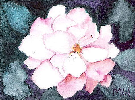Last Little Begonia Blossom by Marsha Woods