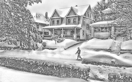 Last Snow for Montclair 2015 by Kellice Swaggerty