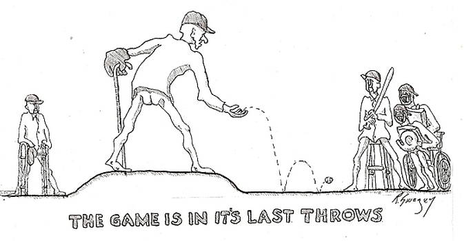 Last Throes by R  Allen Swezey