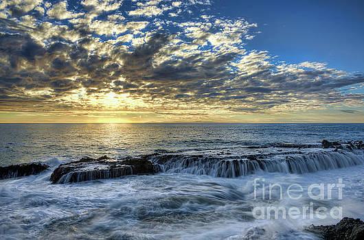 Late Afternoon in Laguna Beach by Eddie Yerkish