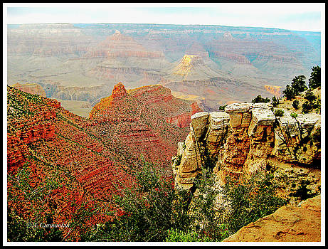 Late Afternoon, Late Afternoon, Grand Canyon, Arizona by A Gurmankin