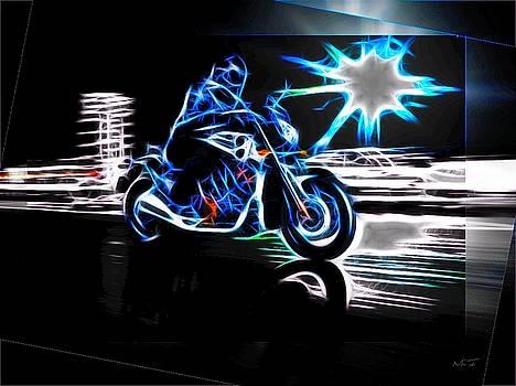 Late Night Street Racing by Maciej Froncisz