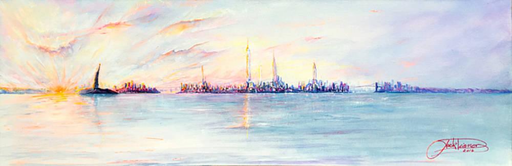 Late Summer Sunset by Jack Diamond