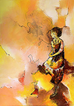 L'Attente  by Francoise Dugourd-Caput