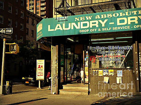 Laundry - Time - Sun and Shadow by Miriam Danar