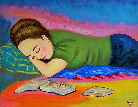 Lauren Sleeping by Deyanira Harris