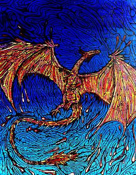 Lava Dragon by John Knox