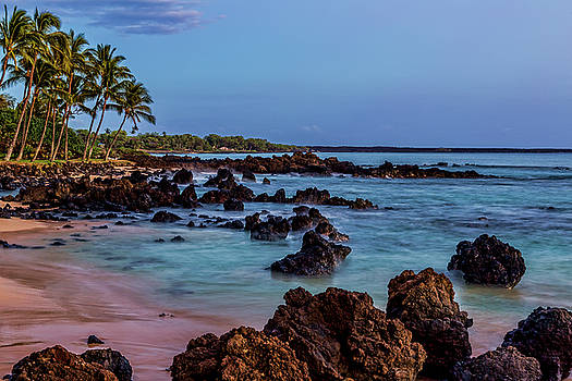 Lava Rocks at Dusk by Kelley King