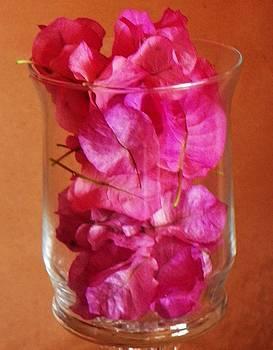 Lavender In Glass by Joseph Frank Baraba