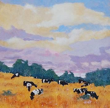 Lavender Skies by Philip Hewitt