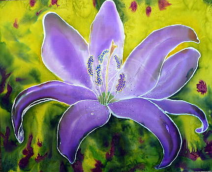 Lavender Tiger Lily by Beverly Johnson