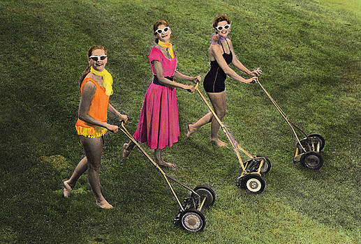 Lawnmower Girls by Kelly Povo