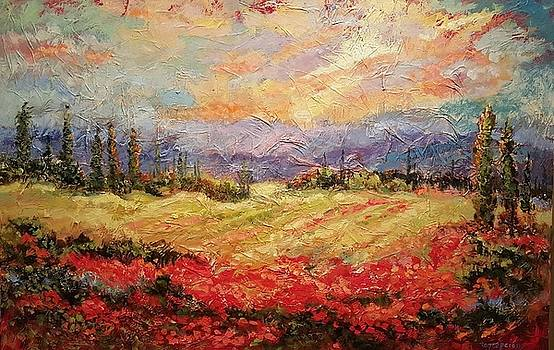 Layers of Tuscany  by Ginger Concepcion