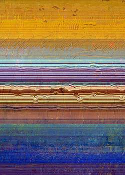 Layers with Orange and Blue by Michelle Calkins