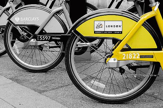 Le Boris Bike by James Evans