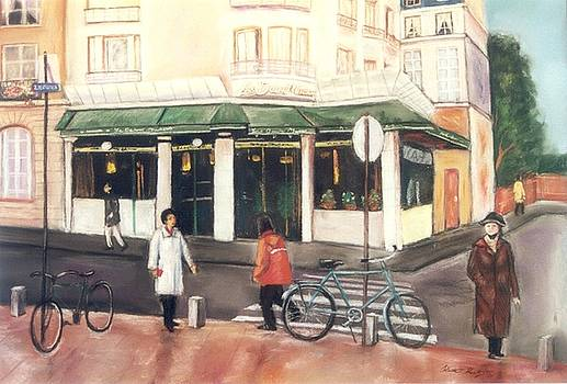 Le Cafe by Heather Kertzer