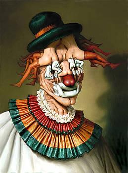 Le clown aux nues by Andre Martins de Barros