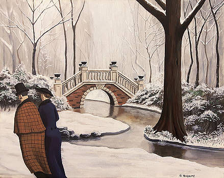 Le Parc Monceau by Dave Rheaume
