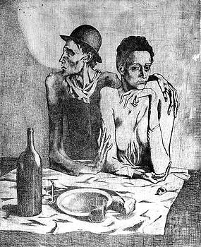 Le repas frugal by Reproductions