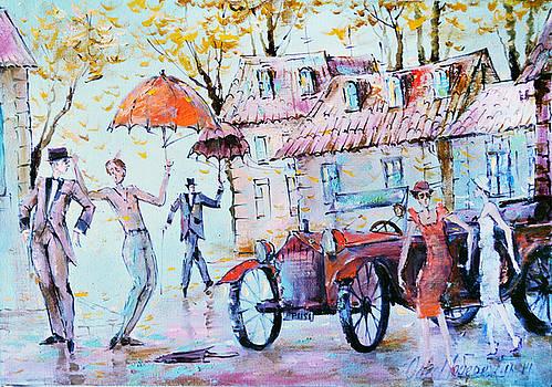 Leaf-fall by Oleg  Poberezhnyi