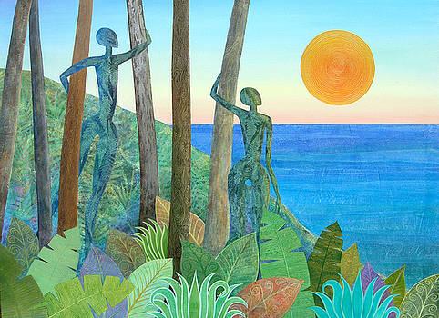 Leafy Alchemy at Sunset by Jennifer Baird