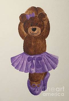 Leah's Ballerina Bear 3 by Tamir Barkan