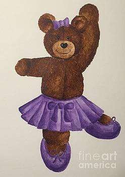 Leah's Ballerina Bear 5 by Tamir Barkan