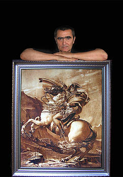 Leaning on Napoleon by Dino Muradian