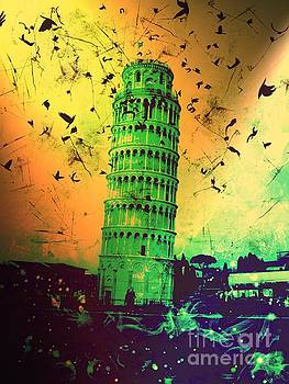 Leaning Tower of Pisa 32 by Marina McLain