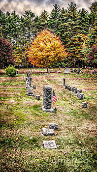 Lee NH Cemetery by Deena Athans