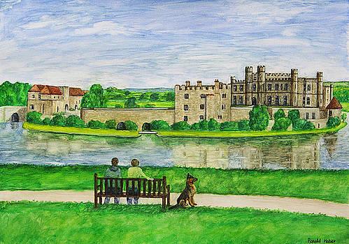 Leeds Castle by Ronald Haber