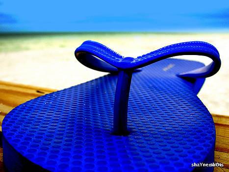 Left Beach Shoe by Shayne Johnson Fleming