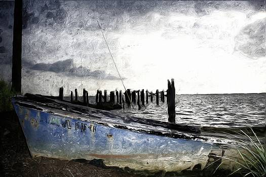 Left Behind by Gulf Island Photography and Images