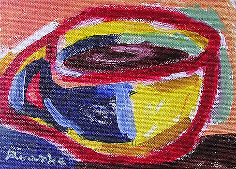 Left Handed Cup by Nancy Rourke