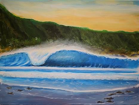 Left Peak by Bob Hasbrook
