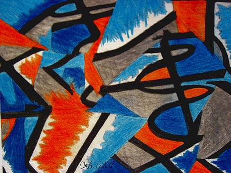 Leger Abstract No.2 by Orla Cahill
