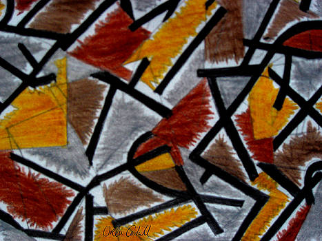 Leger Abstract by Orla Cahill