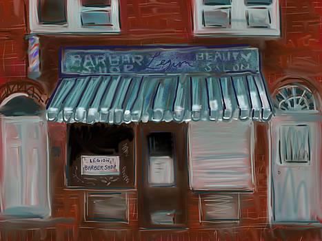 Legion Barber Shop by Jean Pacheco Ravinski