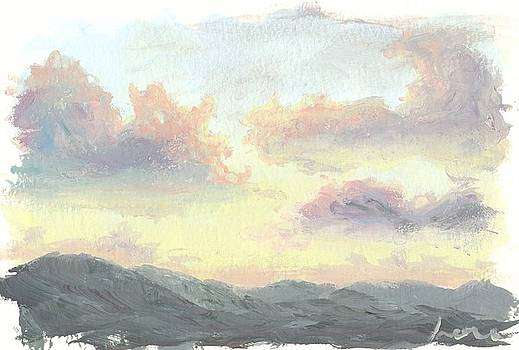 Lemon Sunset  by Irene Pruitt
