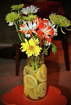 Lemon Water For Flowers by Cynthia Guinn