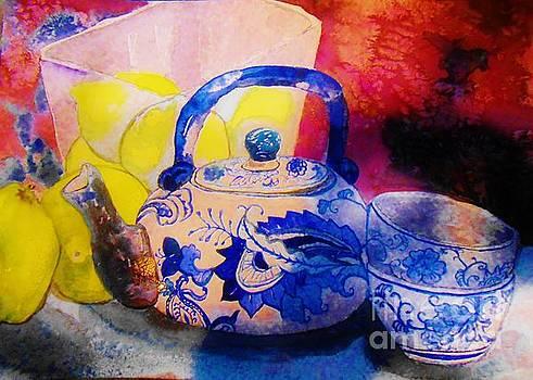 Lemons and Tea by Emily Michaud
