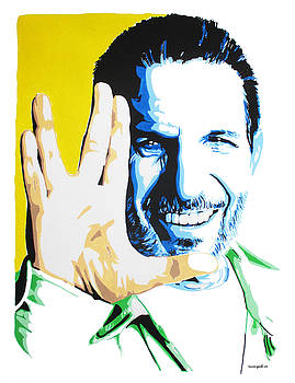 Leonard Nimoy by Nancy Mergybrower