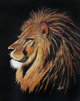 Leonardo Lion by Adele Moscaritolo