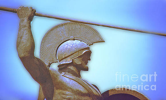 Leonidas at Thermopylae ver 3 by Larry Mulvehill