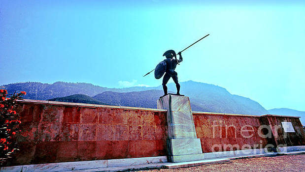 Leonidas at Thermopylae ver 4 by Larry Mulvehill