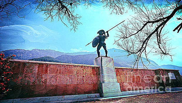 Leonidas at Thermopylae ver 5 by Larry Mulvehill