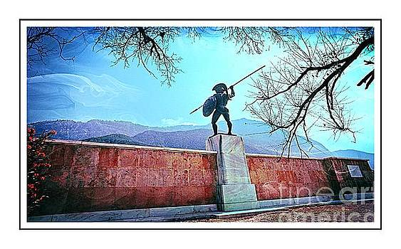 Leonidas at Thermopylae ver 6 by Larry Mulvehill