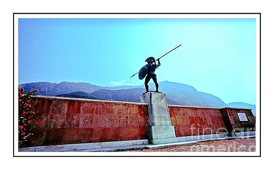 Leonidas at Thermopylae ver 7 by Larry Mulvehill